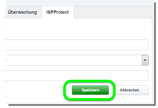 ISPProtect Webspace Schutz
