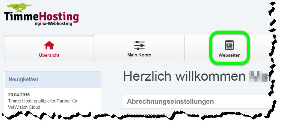 CMS-Konfiguration für nginx vornehmen // Timme Hosting - Schnelles ...