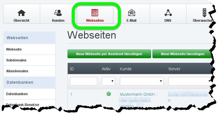 Webseite anlegen mit dem Webseiten-Assistenten // Timme Hosting ...