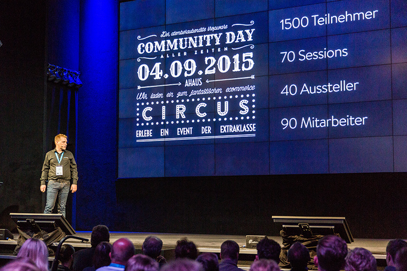 Shopware Community Day 2015 - Keynote